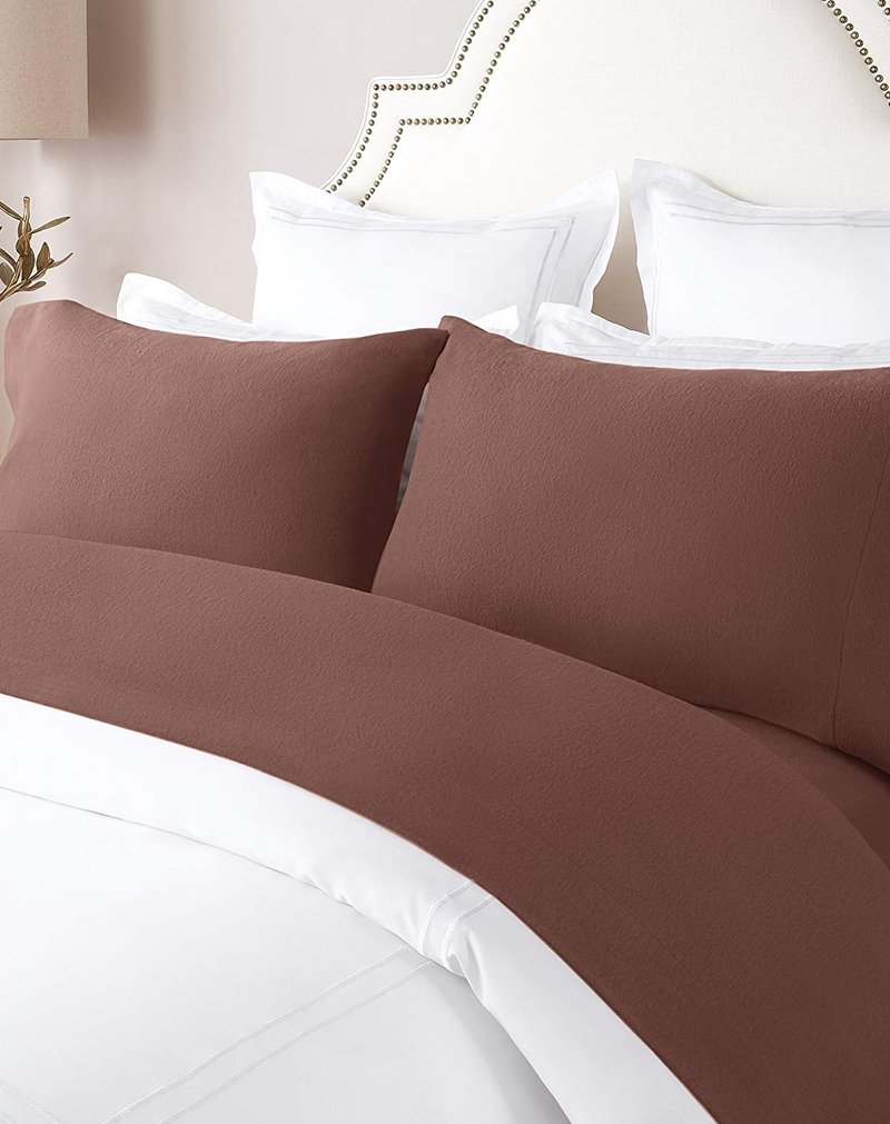 Amazon Super Soft Flannel Sheet Set