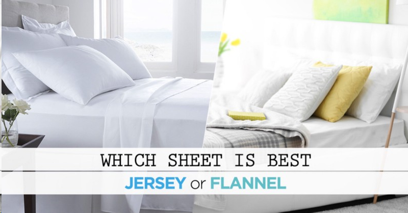 Jersey Sheets Or Flannel Sheets, Which One Is Best Sheet For Hot Weather: Reviews