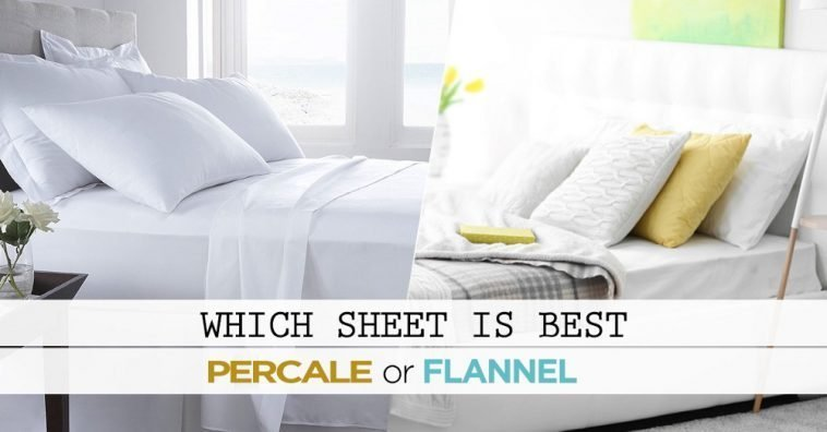 Flannel Sheets VS Percale Sheets – Which 1 Is Best For Cold Weather?