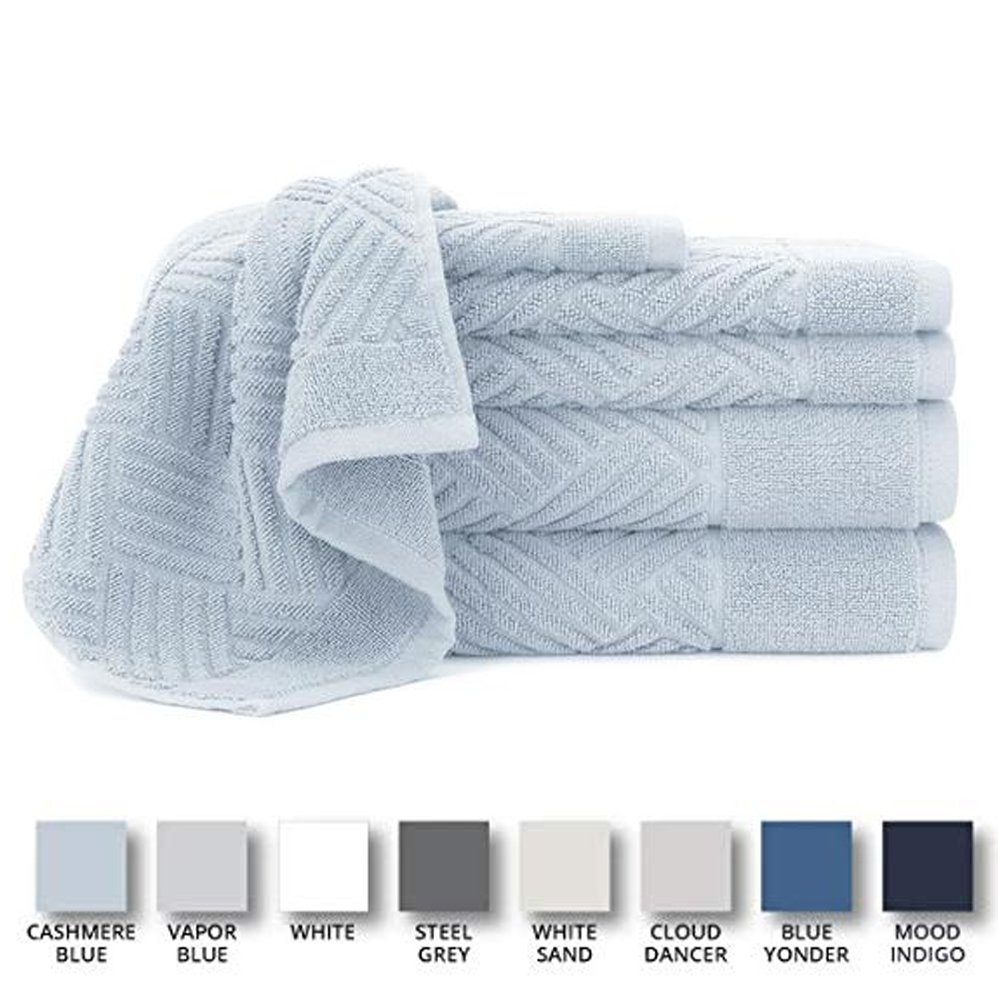 Jacquard Bars Spa Quality Bath Towels Guide