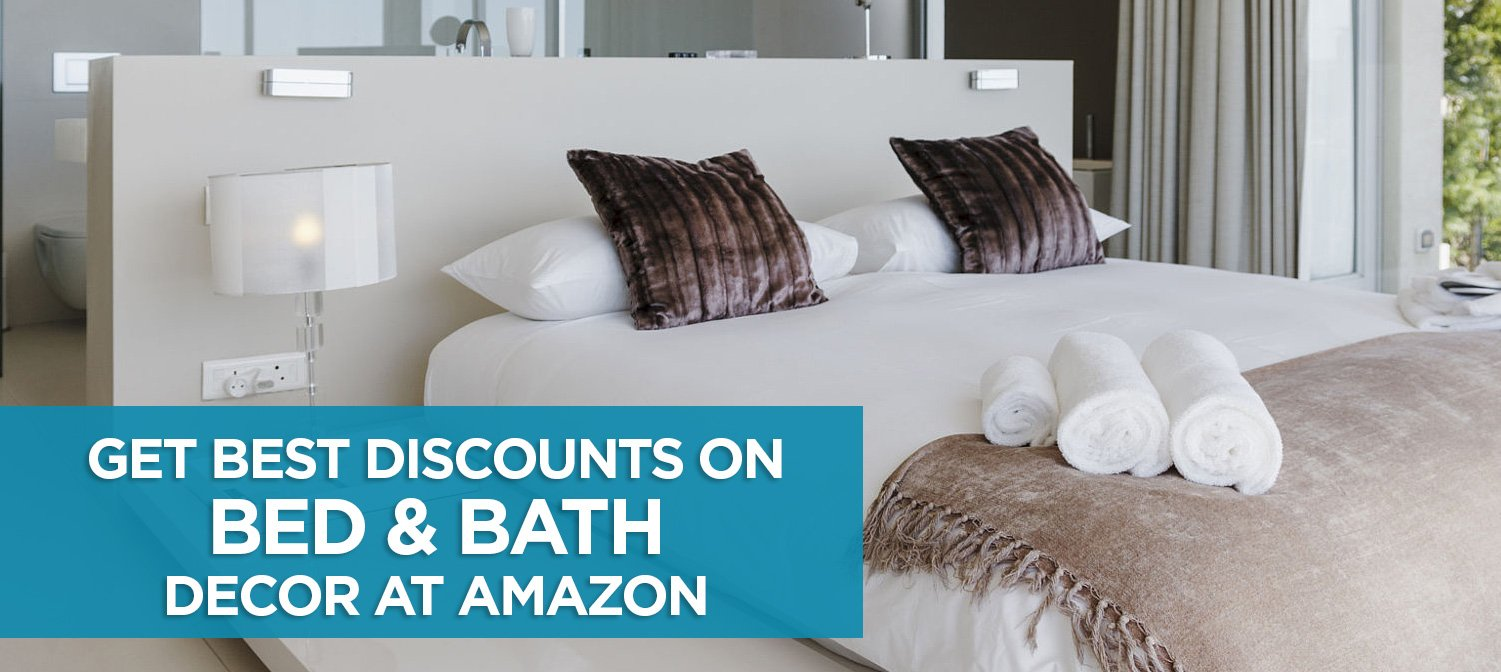 Get Best Discounts On Bed And Bath Linen